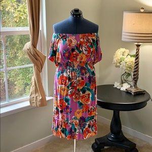 🛍Lane Bryant Off Shoulder Knit Dress Size 22/24